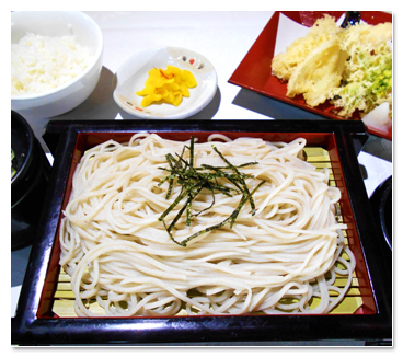 磐梯蕎麦定食