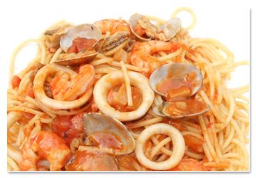 魚介スパゲッティー