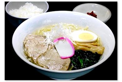 >会津山塩ラーメンセット